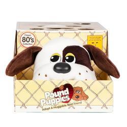 Pound Puppies - White W/ Dark Brown Spots