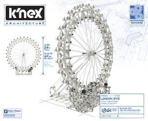 K'NEX Architecture London Eye