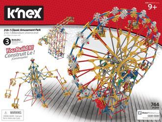 K'NEX Thrill Rides 3 In 1 Amusement Park
