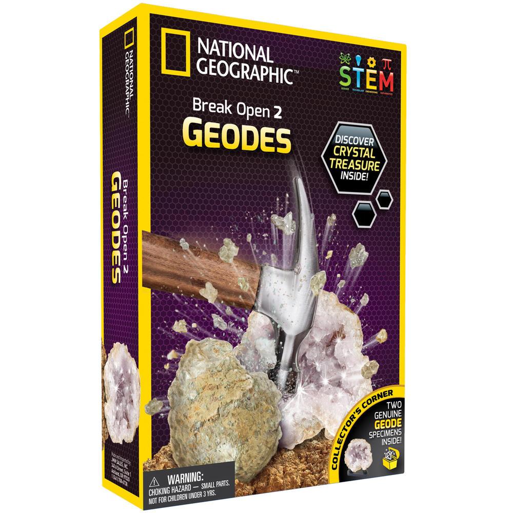 National Gegraphic Break Open Geodes