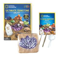 National Gegraphic Ultimate Gemstone Dig Kit