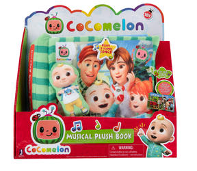 Cocomelon Nursery Rhyme Singing Time Book