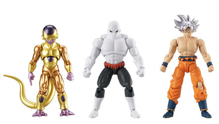 Dragon Ball Action Figure Triple Pack - Broly, Jiren & Frieza
