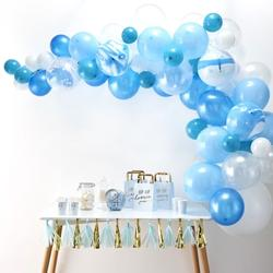 Blue Balloon Arch Kit