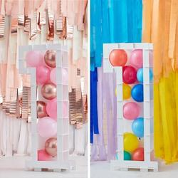 Balloon Mosaic Number Stand - 1