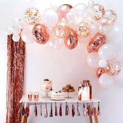 Rose Gold Balloon Arch Kit