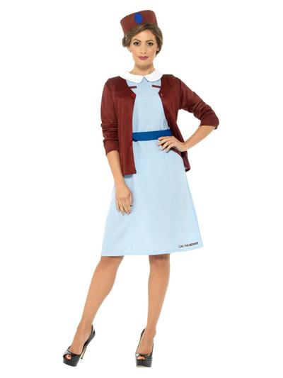 Ladies Call The Midwife Costume