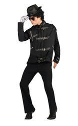 Deluxe Michael Jackson Bad Buckle Jacket