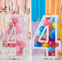Balloon Mosaic Number Stand - 4