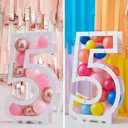 Balloon Mosaic Number Stand - 5