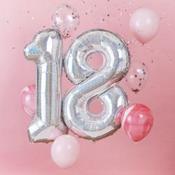 18th Birthday Balloon Bundle