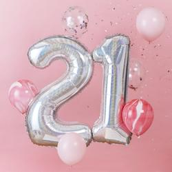 21st Birthday Balloon Bundle