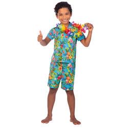 Kids Blue Hawaii Set