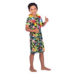 Kids Black Hawaii Set