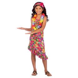 Girls Pink Hawaii Dress