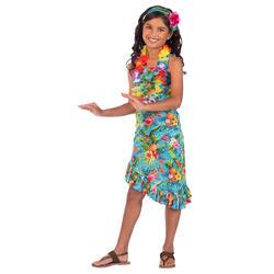 Girls Blue Hawaii Dress