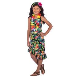 Girls Black Hawaii Dress