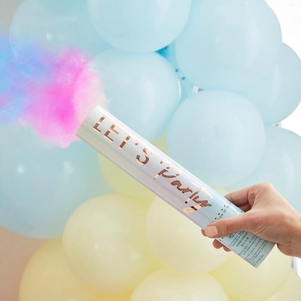 Pastel Smoke Confetti Cannon