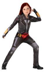 Girls Deluxe Black Widow Costume