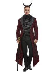 Mens Deluxe Devil Costume