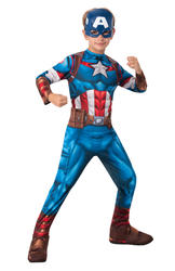 Marvel Captain America Boys Costume