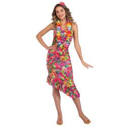 Ladies Hawaii Pink Dress