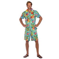 Mens Blue Hawaii Set