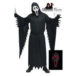 Scream Costume w/ Light Up Mask