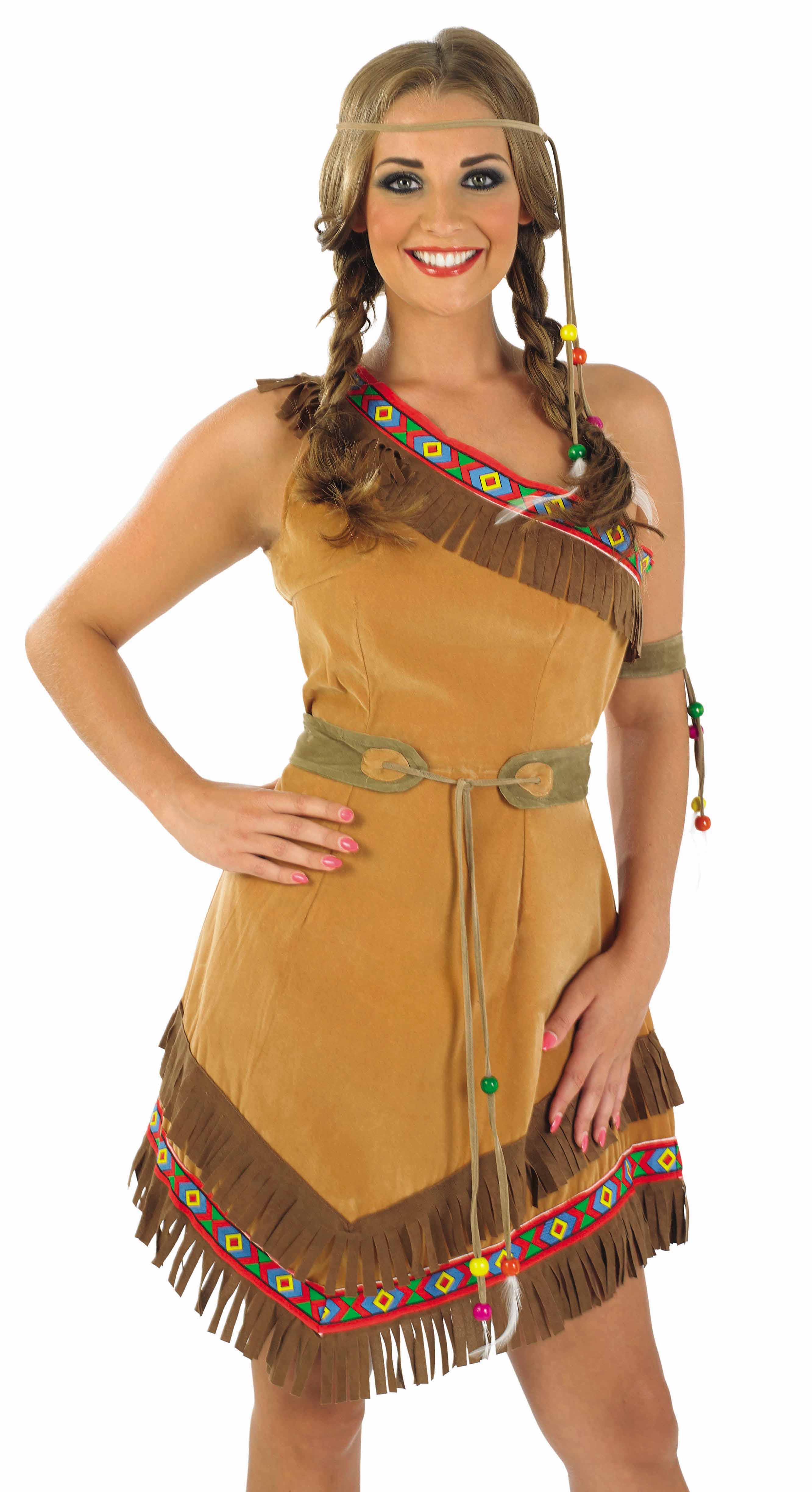 Indian Squaw Costume | All Ladies Costumes | Mega Fancy Dress