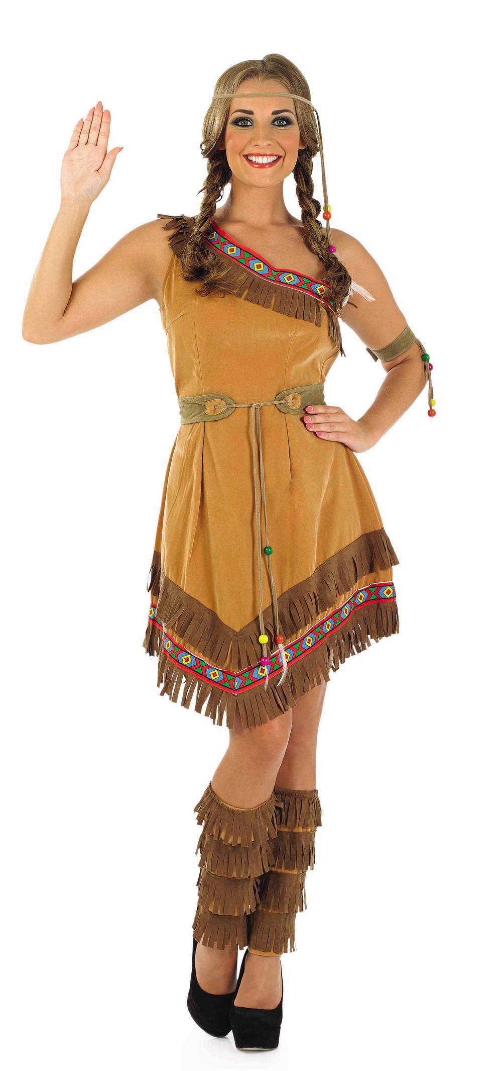 Indian Squaw Costume All Ladies Costumes Mega Fancy Dress