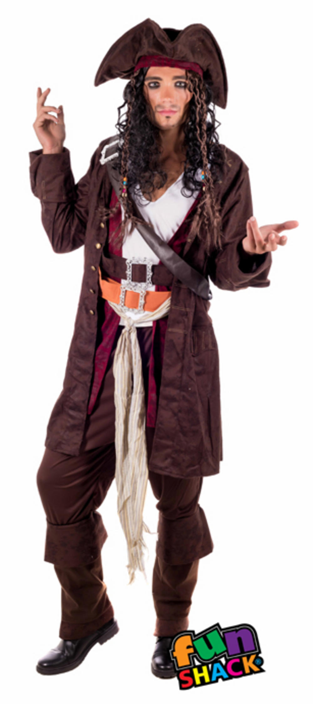 Rum Smuggler Pirate Costume