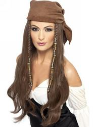 Pirate Ladies Wig