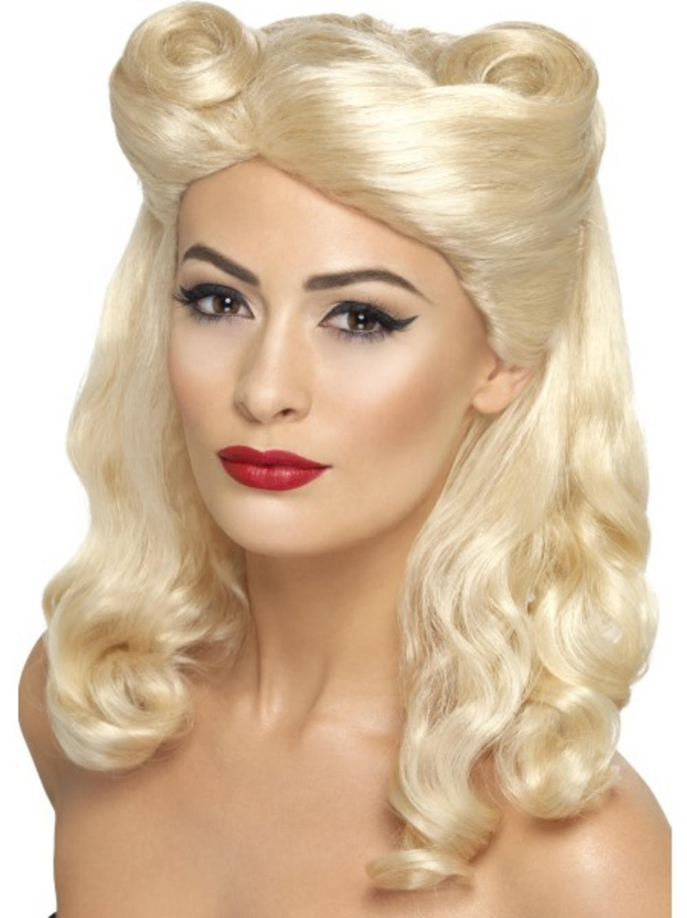 40s Blonde Pin Up Wig