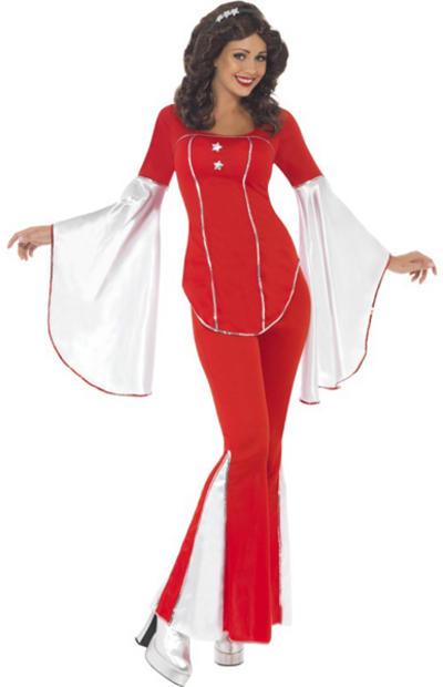 Red Super Trooper Costume