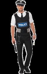 Policeman Instant Kit Costume