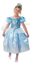 Girls Glitter Cinderella Disney Princess