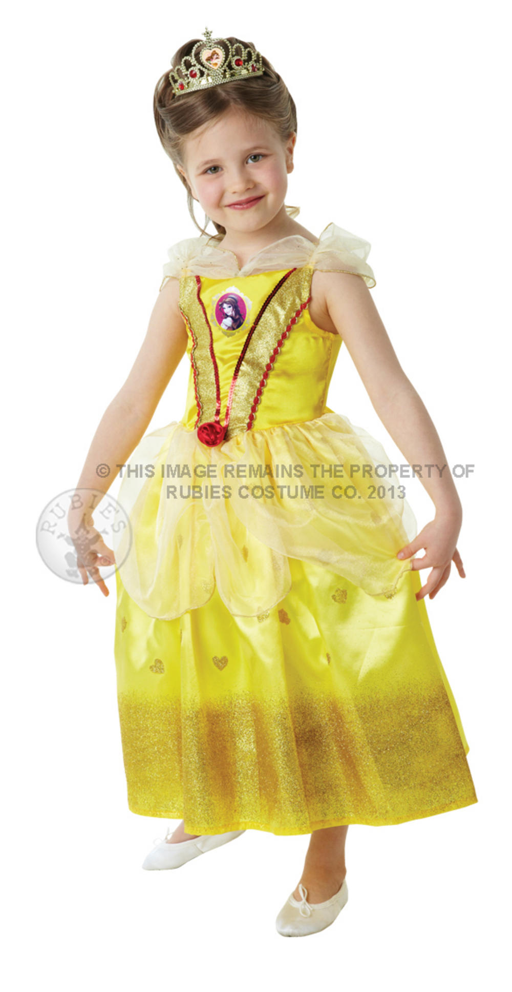 Girl's Glitter Belle Disney Princess