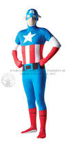 Captain America Second Skin Suit