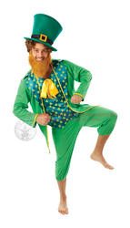 Mens Leprechaun Fancy Dress