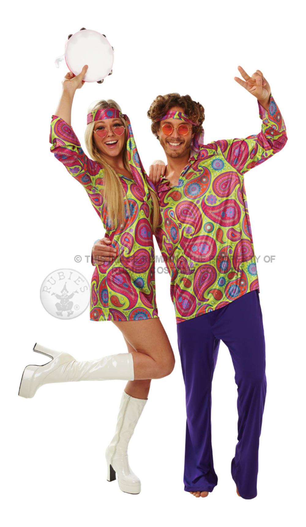 70s Hippy Guy Costume