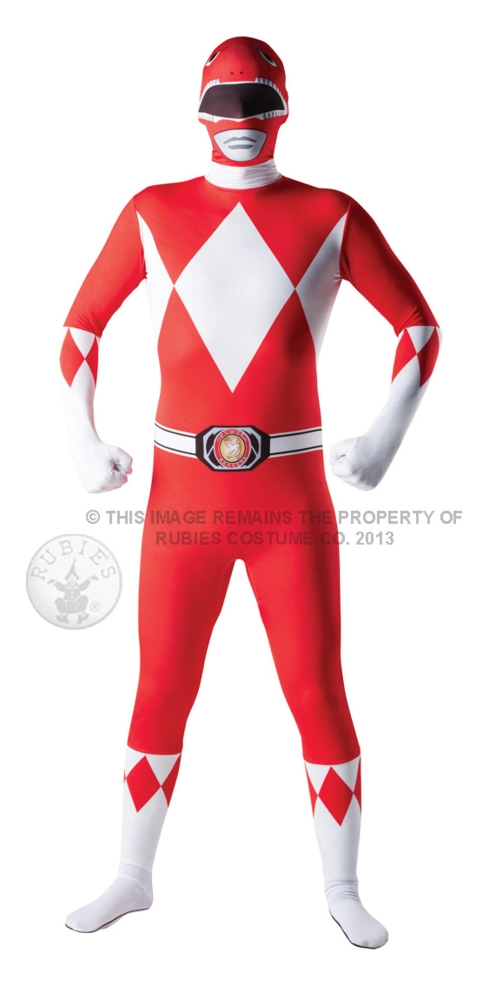 Mighty Morphin Red Power Ranger 2nd Skin