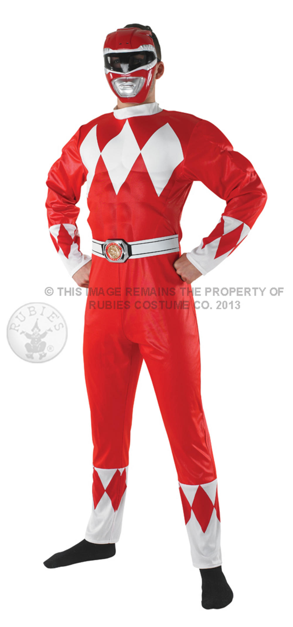 Mighty Morphin Red Ranger Muscle Costume