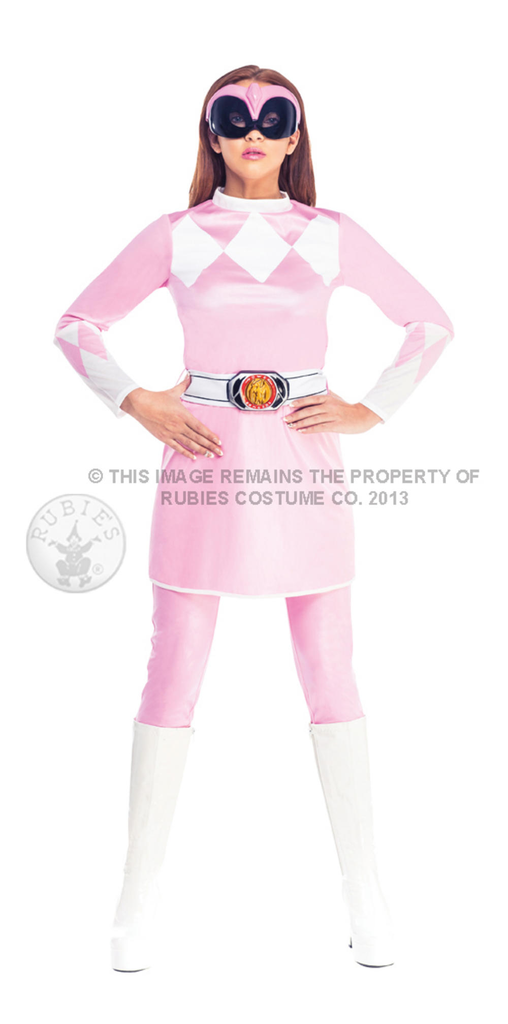 Female Pink Ranger Mighty Morphin Costume