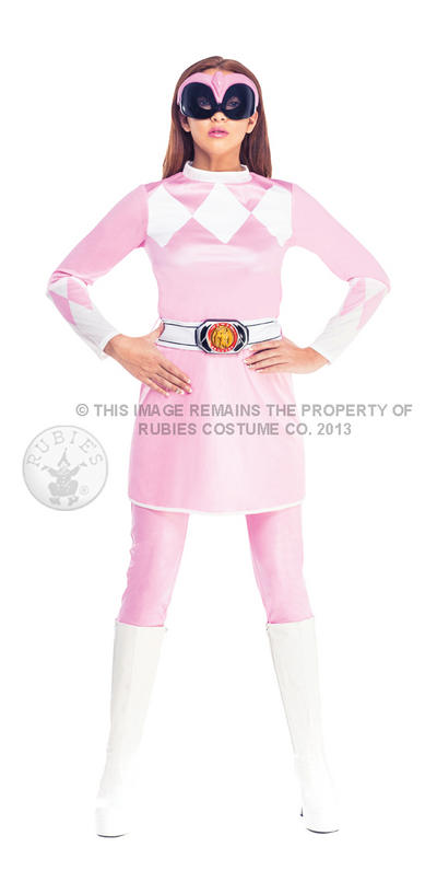 Female Pink Ranger Mighty Morphin Costume