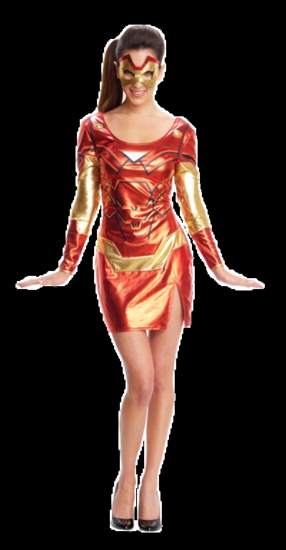Miss Ironman Costume