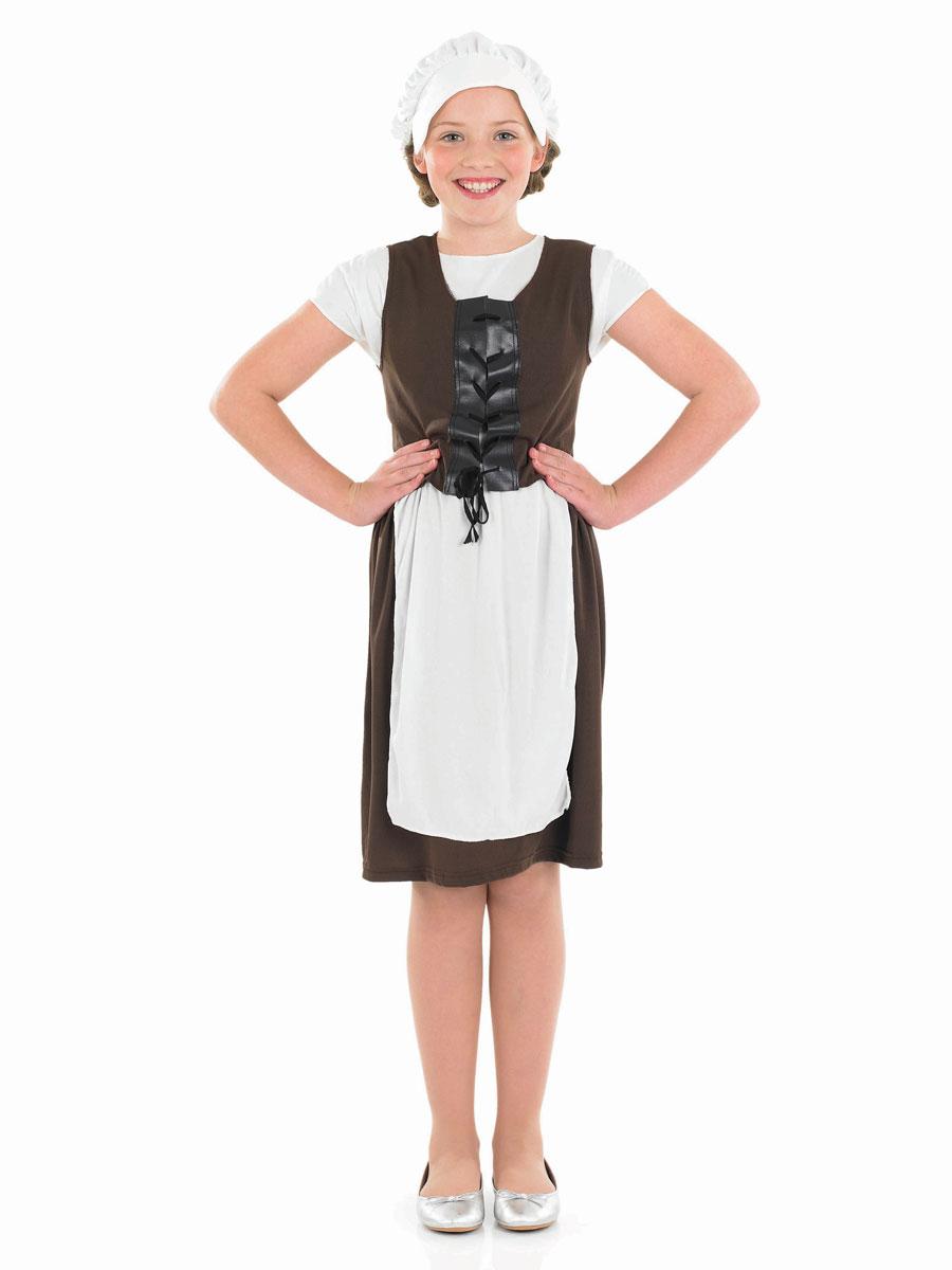 15deb32955643 Kids Tudor Costumes & 4-6 Years Green Tudor Dress Girl Childrens ...
