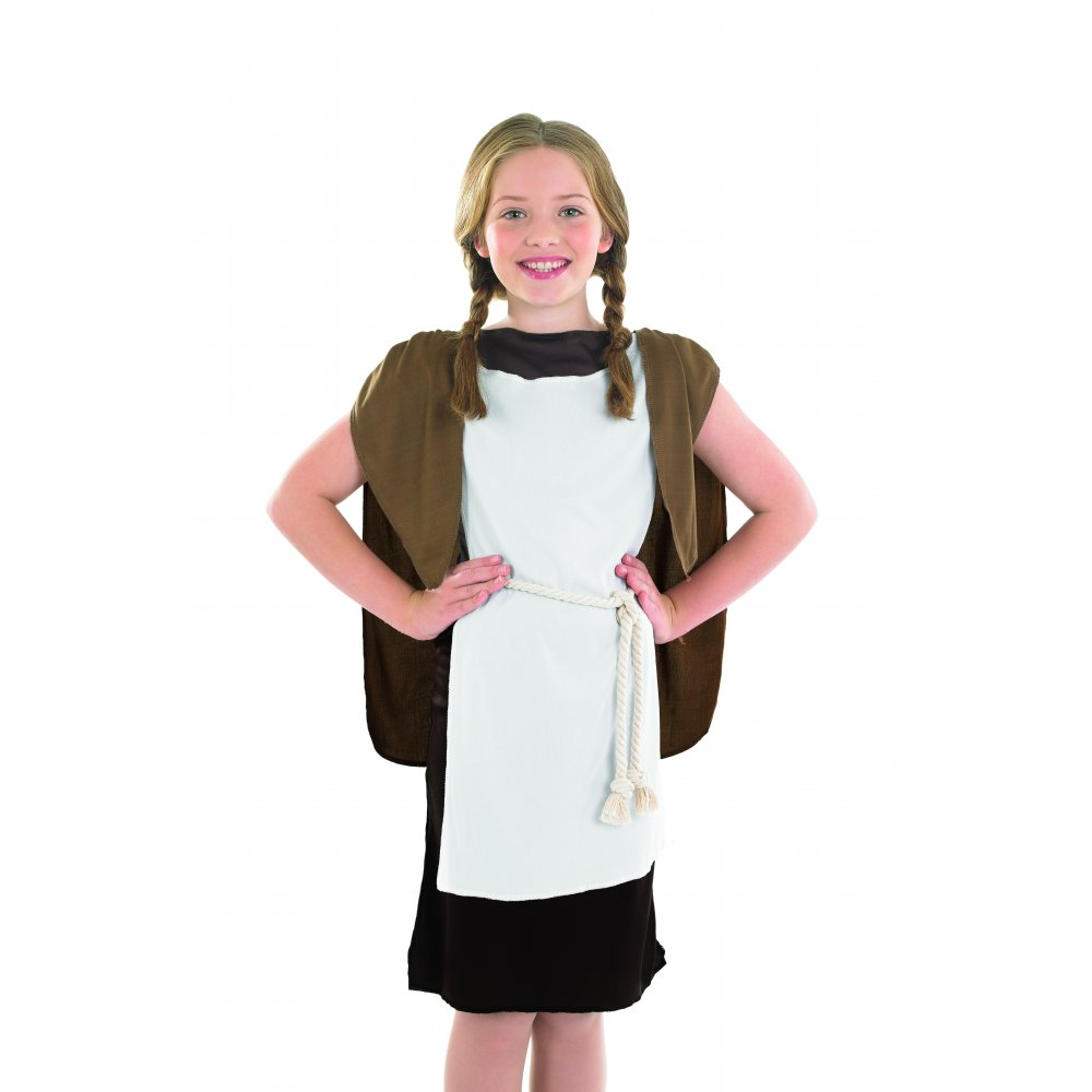 Dress Up: Viking Girl Fancy Dress Medieval School Book Week Costume
