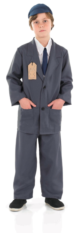 Evacuee Boy Suit 40s Costume