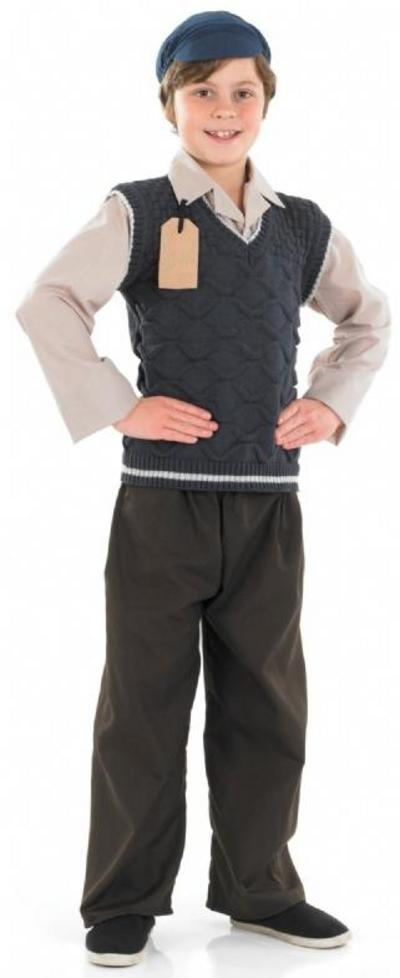 Boys Evacuee Suit 40s Costume