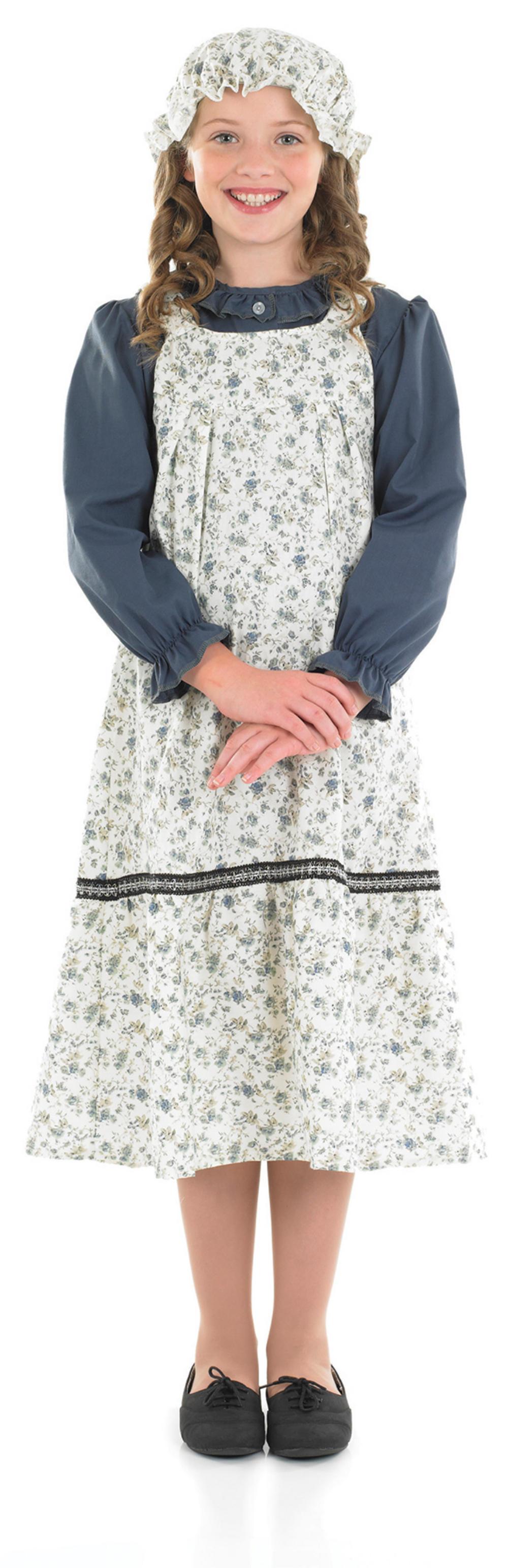 Girlu0026#39;s Victorian School Girl Costume   Girlu0026#39;s World Book Day Fancy Dress Costumes   Mega Fancy Dress
